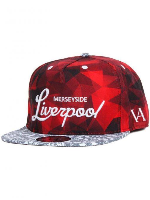 Liverpool Pattern Snapback