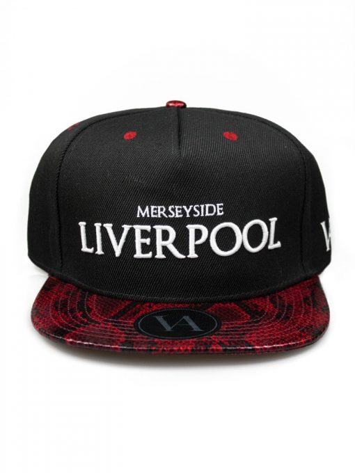 Liverpool Black Strapback