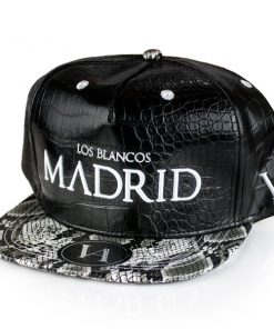 madrid-black-strapback-side