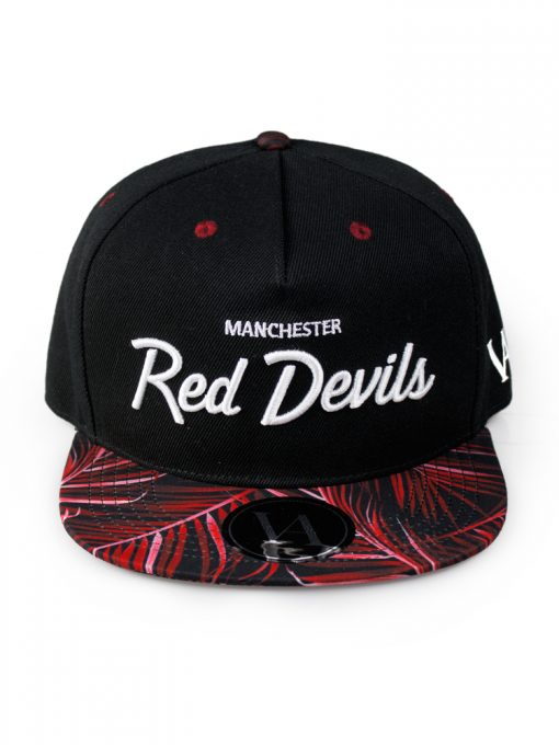 Red Devils Palm Strapback
