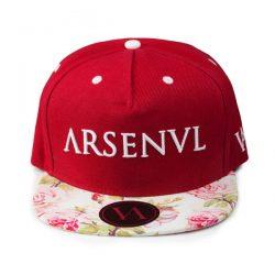 arsenal-floral-strapback-front
