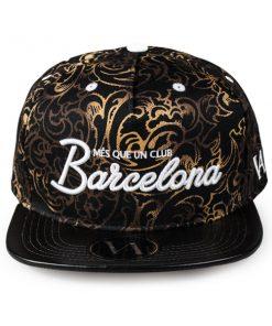 barcelona-gold-snapback-front