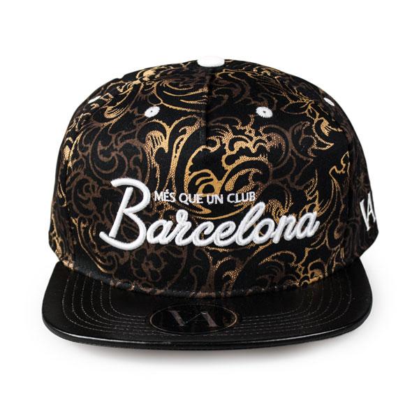 Barcelona Gold Snapback