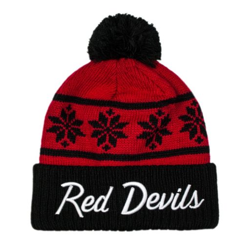 Red Devils Snowflake Beanie