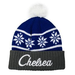 Chelsea Snowflake Beanie