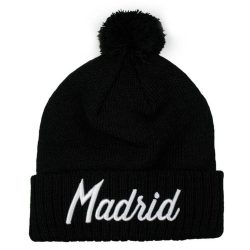 Madrid Black Beanie