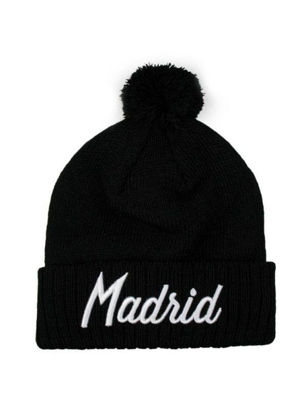 Madrid Black Beanie
