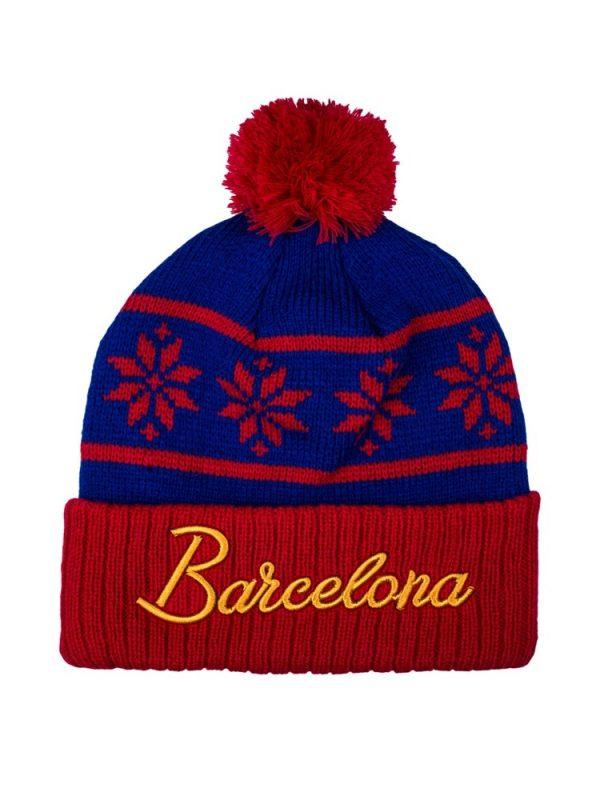 Barcelona Snowflake Beanie