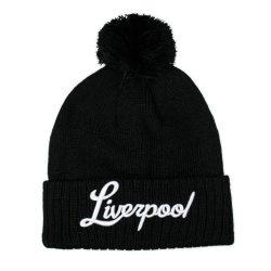 Liverpool Black Beanie