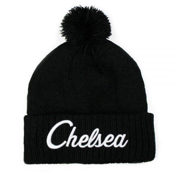 Chelsea Black Beanie