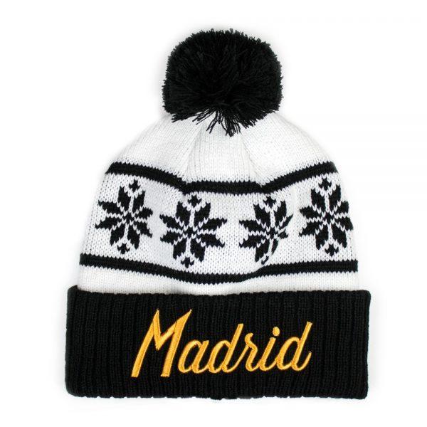 Madrid Snowflake Beanie