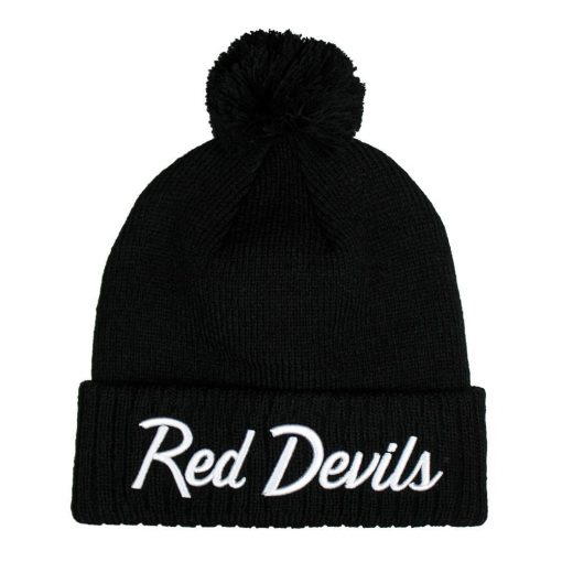 Red Devils Black Beanie