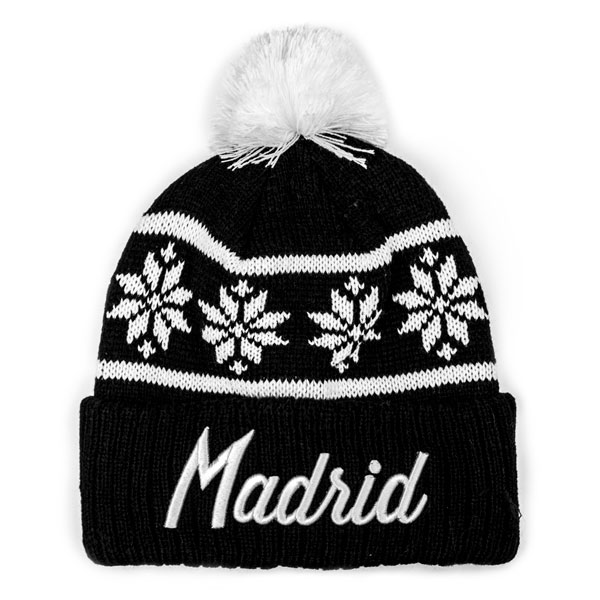 Madrid Away Snowflake Beanie