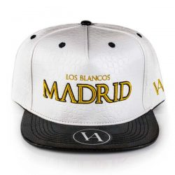 Madrid White Crocodile Strapback
