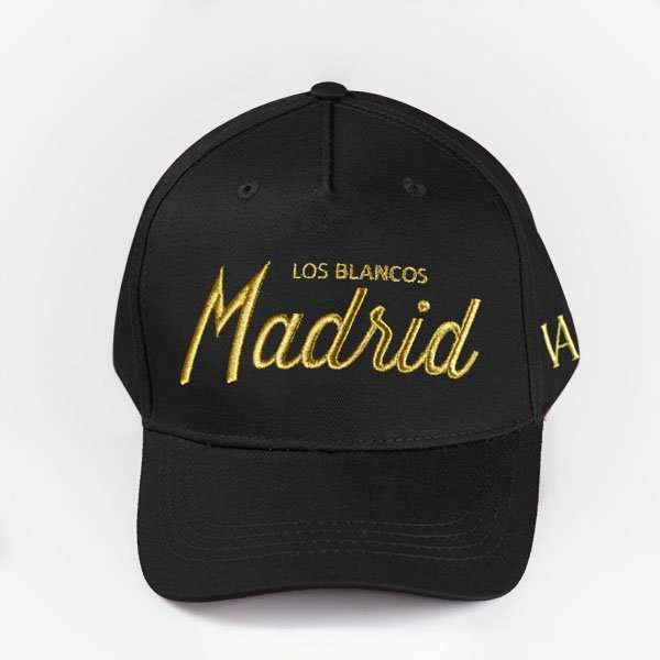 Madrid Black Curved Snapback